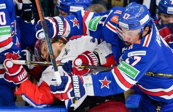 СКА в третий раз проиграл ЦСКА в полуфинальной серии Кубка Гагарина