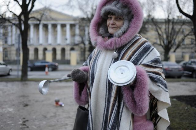 Голодовка Ильюшинцев 4.03.15: Фото