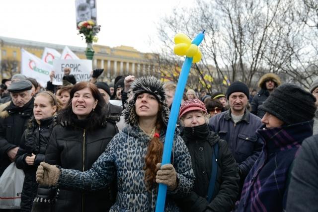 Митинг памяти Бориса Немцова 1 марта 2015: Фото
