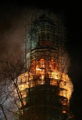 Новодевичий монастырь в Москве 15 марта 2015: Фото