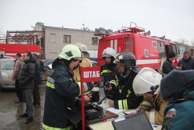 Пожар В Казани Адмирал: Фото