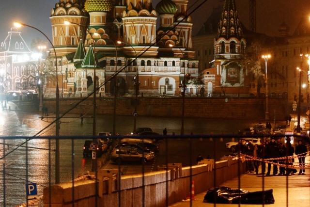 Немцов убит.Фото: Фото