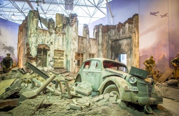 Трехмерная панорама «Битва за Берлин» вызвала ажиотаж у посетителей
