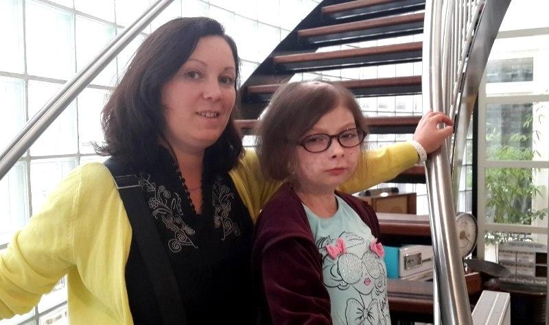 Ирина Сигачева с приемной дочерью Аней Буриловой, фото из личного архива Ирины Сигачевой