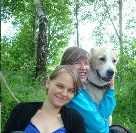 Наталья Горбунова с дочерью, фото из личного архива Натальи Горбуновой