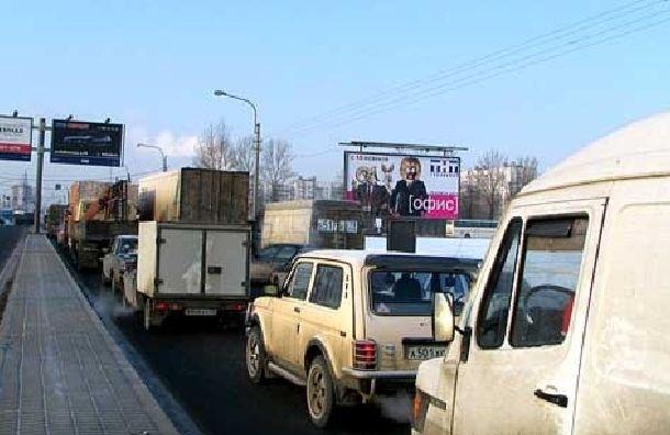 С 15 марта на Дунайском проспекте ограничат движение