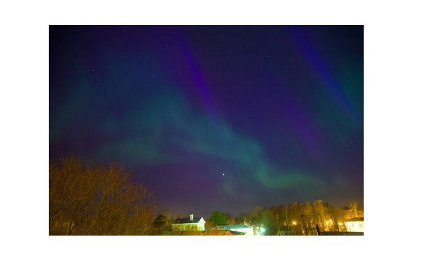 Фотографии северного сияния в России взорвали интернет