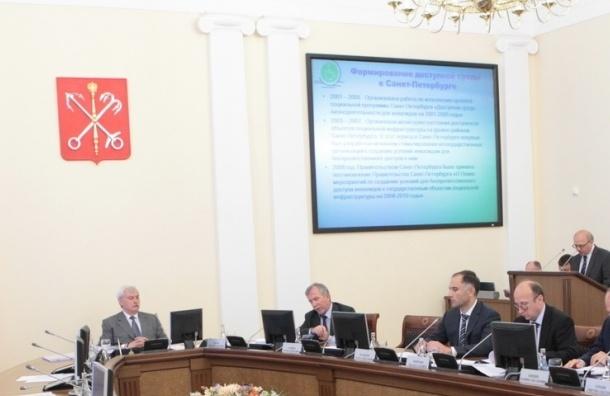 Георгий Полтавченко представил правительству Петербурга новых глав комитетов
