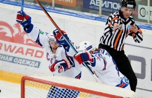 СКА с разгромным счетом обыграл «Динамо» в Москве
