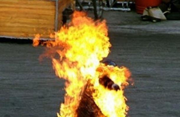 В Ленобласти 50-летний мужчина совершил акт самосожжения