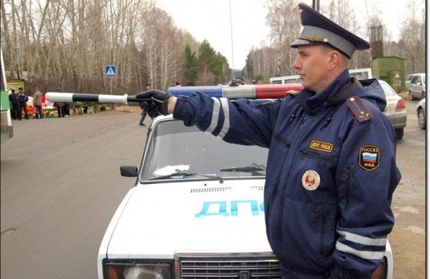 На автодороге «Нарва» ГИБДД устроила погоню за пьяным водителем-нарушителем