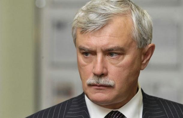 Губернатор Петербурга заметил пылевые бури в городе