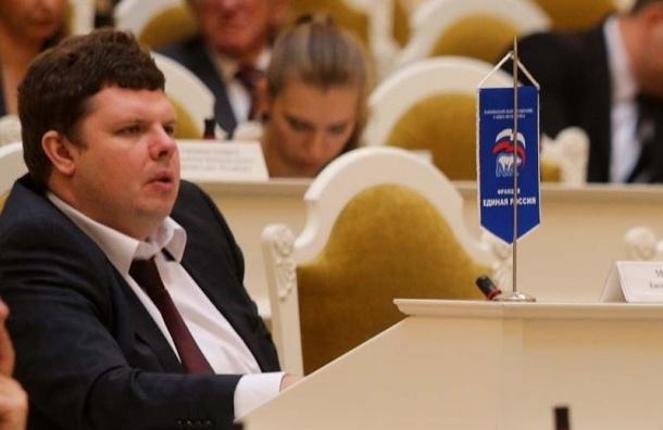 Депутат петербургского ЗакСа сообщил, что Крым вошел в состав Украины