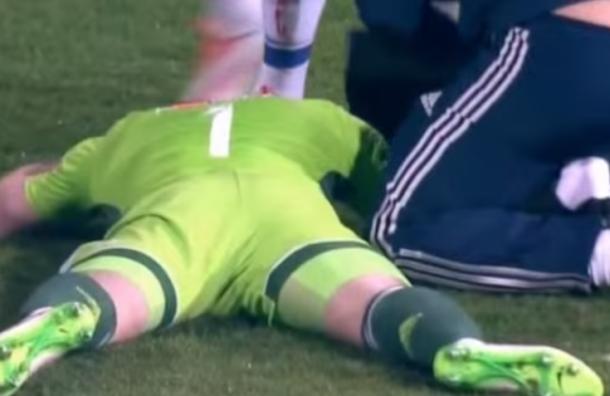 Россия - Черногория: игру прекратили во втором тайме из-за буйных болельщиков
