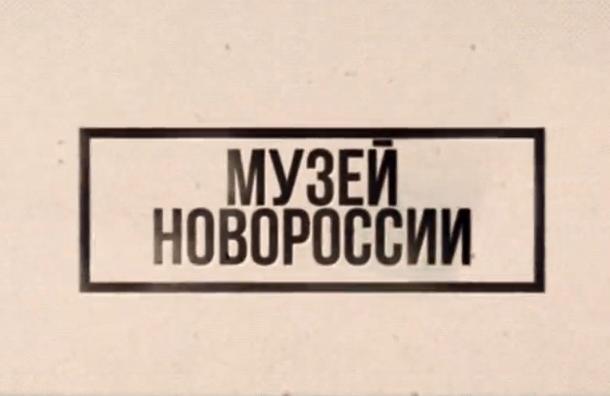 Музей Новороссии откроется в Петербурге