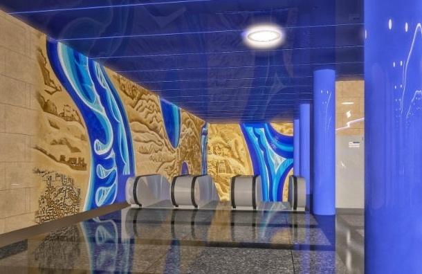 На станции метро «Дунайская» появится мозаика с видами Вены и Братиславы