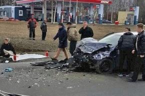 В ДТП на Красносельском шоссе погибли три человека