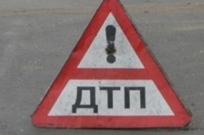Три машины попали в аварию на КАД