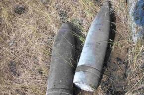 В Петербурге нашли боеприпасы времен Второй мировой войны
