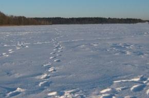 Из подо-льда Финского залива достали тело рыбака