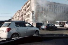 Короткое замыкание на Площади Восстания привело к транспортному коллапсу