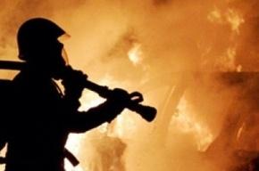 Минувшей ночью в Шушарах сгорела кабина КамАЗа