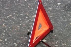 Водителя пришлось вырезать из машины в результате аварии на Софийской