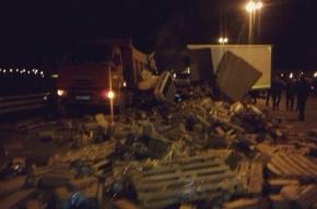 ДТП на КАД: авария с грузовиками унесла жизнь человека
