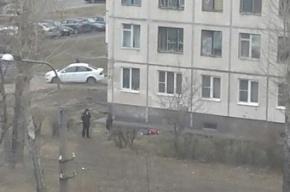 Очевидцы: мужчина погиб, выпрыгнув из окна дома в Невском районе