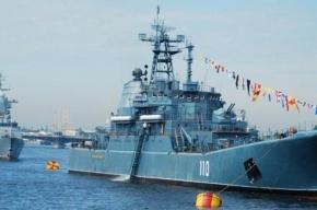9 мая в акватории Невы пройдет парад кораблей Балтийского флота