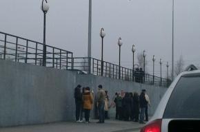 Посетителей второго ТК эвакуируют в Петербурге