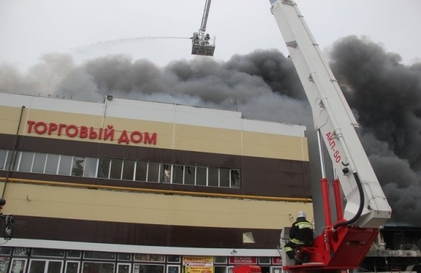Новости Казани сейчас: на пожаре в ТЦ «Адмирал» пропал подполковник МЧС
