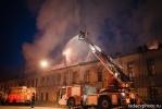 Пожар в здании бывших казарм Семеновского полка, фото: radaevphoto.ru: Фоторепортаж
