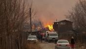 Пожары в Хакассии: Фоторепортаж