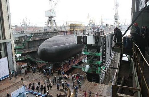 На «Адмиралтейских верфях» спустили на воду подводную лодку «Краснодар»
