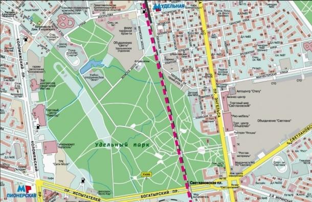 Полтавченко поддержал строительство магистрали через Удельный парк