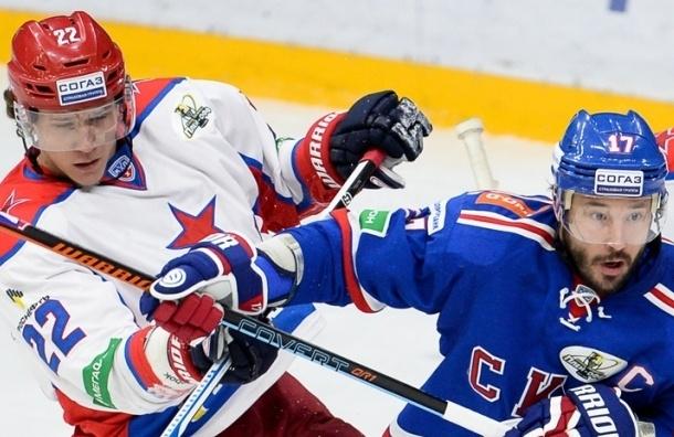 СКА размочил счет в финальной серии игр с ЦСКА