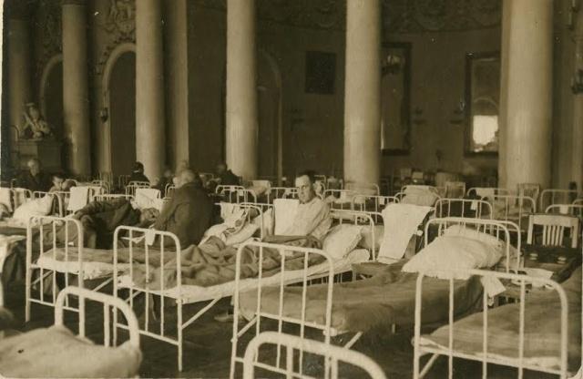 Юсуповский дворец во время блокады, фото из архива Юсуповского дворца: Фото