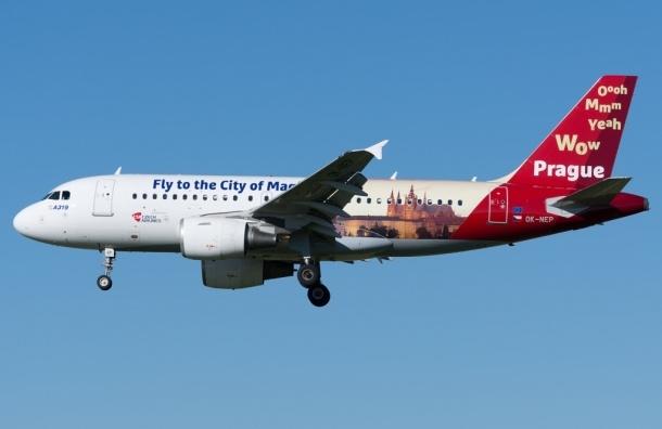 «Чешские авиалинии» запускают в воздух пражские мотивы