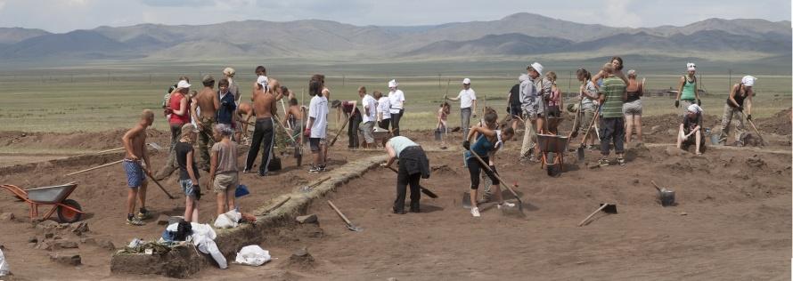 Раскоп+белое озеро Кызыл-Курагино