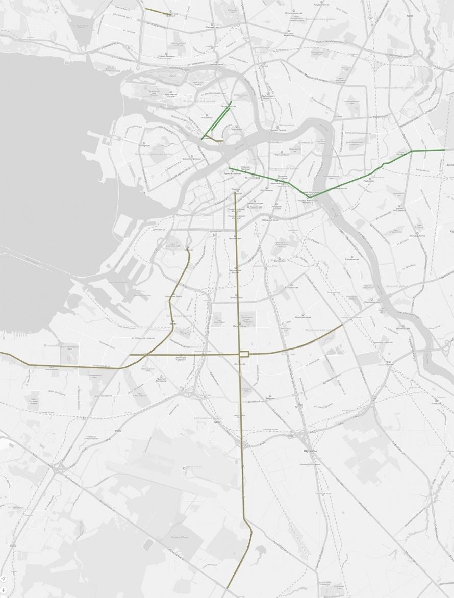 карта велосипедизации
