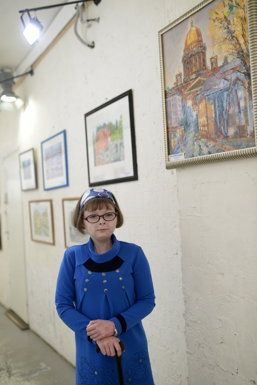 Выставка Анны Буриловой. Фото: Сергей Ермохин