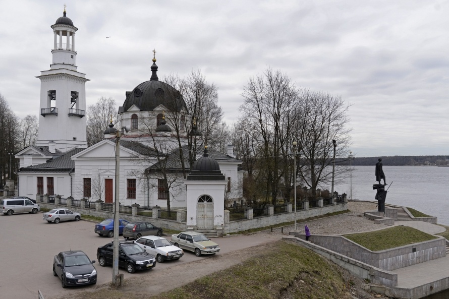 Храм Александра Невского в Усть-Ижоре, фото: Сергей Ермохин