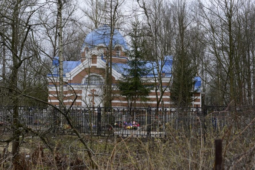 Владимирский храм в Усть-Ижоре, фото: Сергей Ермохин