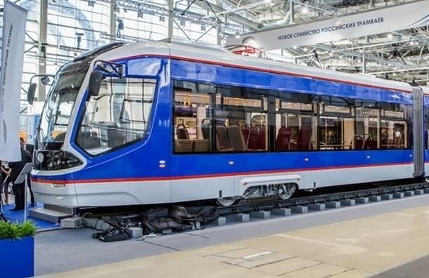 Смольный закупит десять трамваев  у московской компании «Транспортные системы»