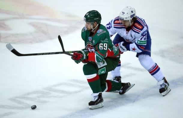 СКА-АК Барс: подопечные Билялетдинова вырвали победу в третьем периоде