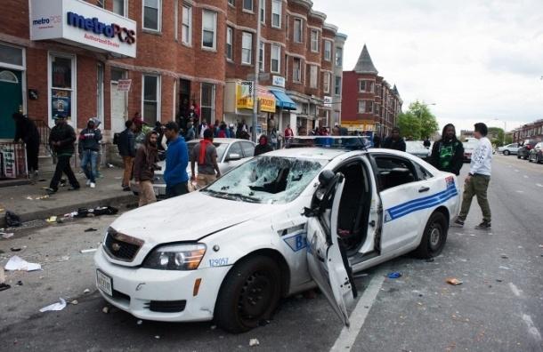 В ходе беспорядков в Балтиморе арестованы более 200 человек