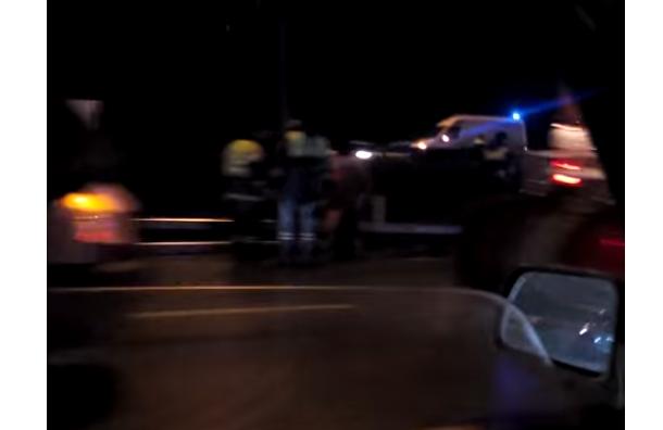 Авария на МКАД: автомобиль протаранил группу дорожных рабочих