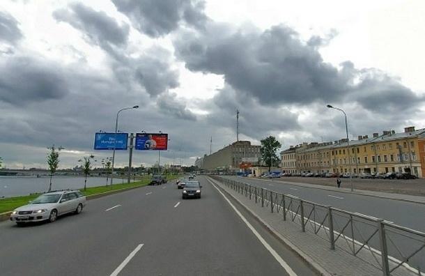 Движение по Синопской набережной закрывается до 27 июля