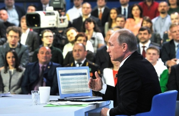 Путин на «прямой линии»: Порошенко не предлагал забрать Донбасс